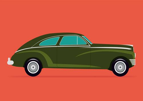 Green-Sedan